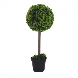 Maceta Planta Artificial 26x26x40 cms