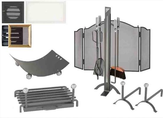 Utensilios y accesorios para chimeneas conchi decoraci n - Accesorios de chimeneas ...