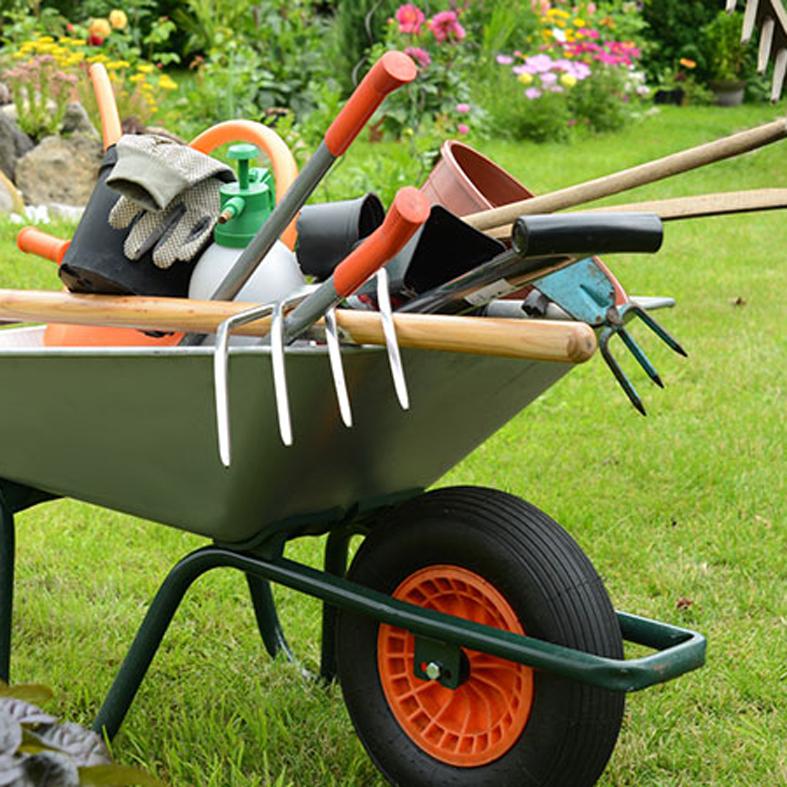 Herramientas y accesorios para tu jard n cinchi decoraci n for Accesorios jardin